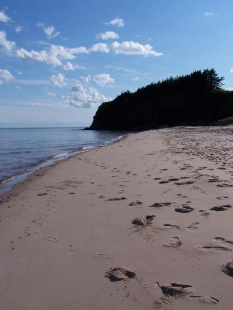 seaglass on the beaches of PEI
