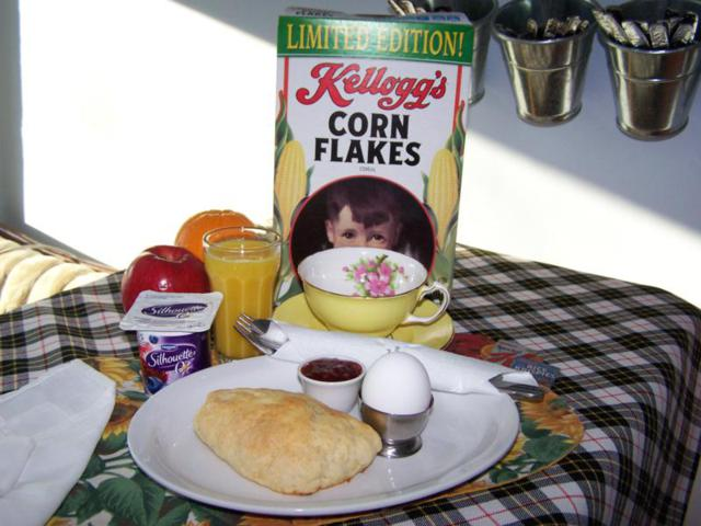 continental breakfast example