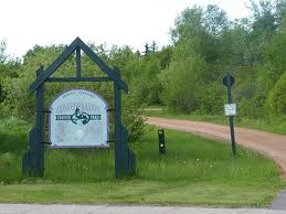 Confederation Trail Entrance